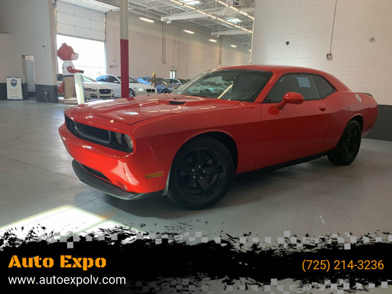 2014 Dodge Challenger for sale at Auto Expo in Las Vegas NV