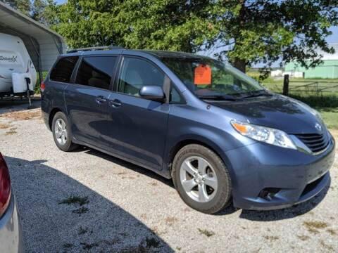 2014 Toyota Sienna for sale at Halstead Motors LLC in Halstead KS