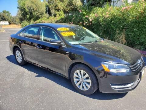 2015 Volkswagen Passat for sale at ALL CREDIT AUTO SALES in San Jose CA