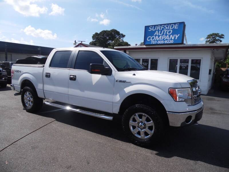 2013 Ford F-150 for sale at Surfside Auto Company in Norfolk VA