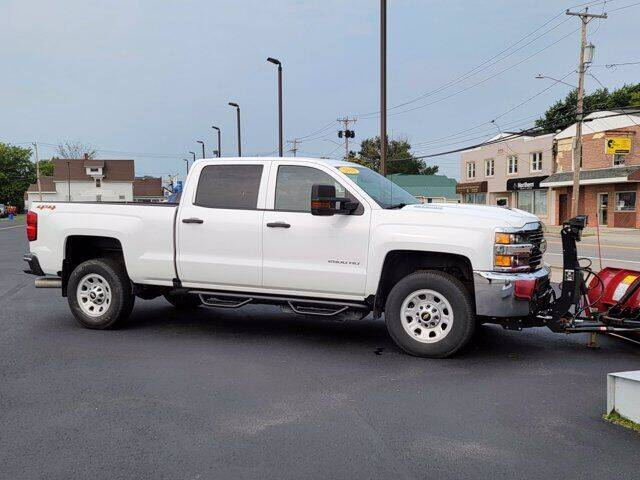 2018 Chevrolet Silverado 2500HD for sale at Frenchie's Chevrolet and Selects in Massena NY
