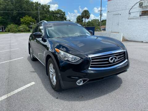 2014 Infiniti QX70 for sale at LUXURY AUTO MALL in Tampa FL