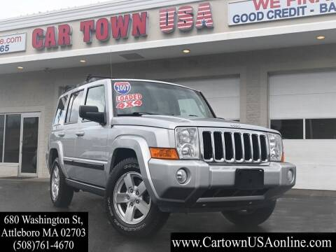 2007 Jeep Commander for sale at Car Town USA in Attleboro MA