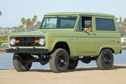 1971 Ford Bronco for sale at Precious Metals in San Diego CA