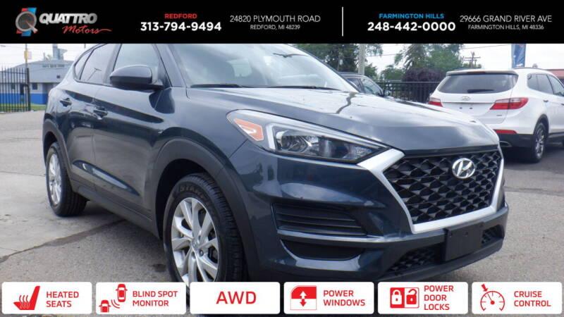 2019 Hyundai Tucson for sale at Quattro Motors 2 - 1 in Redford MI
