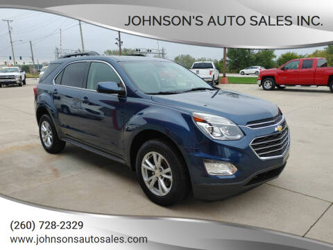 2017 Chevrolet Equinox for sale at Johnson's Auto Sales Inc. in Decatur IN