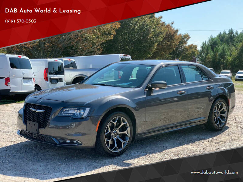 2016 Chrysler 300 for sale at DAB Auto World & Leasing in Wake Forest NC