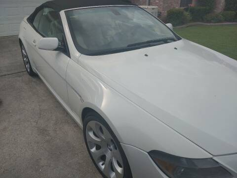 2006 BMW 6 Series for sale at Finish Line Auto LLC in Luling LA