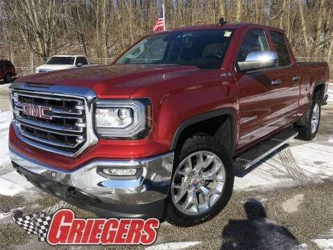 2018 GMC Sierra 1500 for sale at GRIEGER'S MOTOR SALES CHRYSLER DODGE JEEP RAM in Valparaiso IN