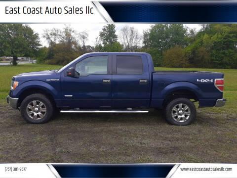 2012 Ford F-150 for sale at East Coast Auto Sales llc in Virginia Beach VA