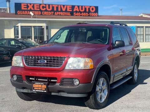 2005 Ford Explorer for sale at Executive Auto in Winchester VA