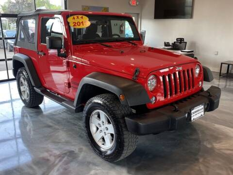 2015 Jeep Wrangler for sale at Crossroads Car & Truck in Milford OH
