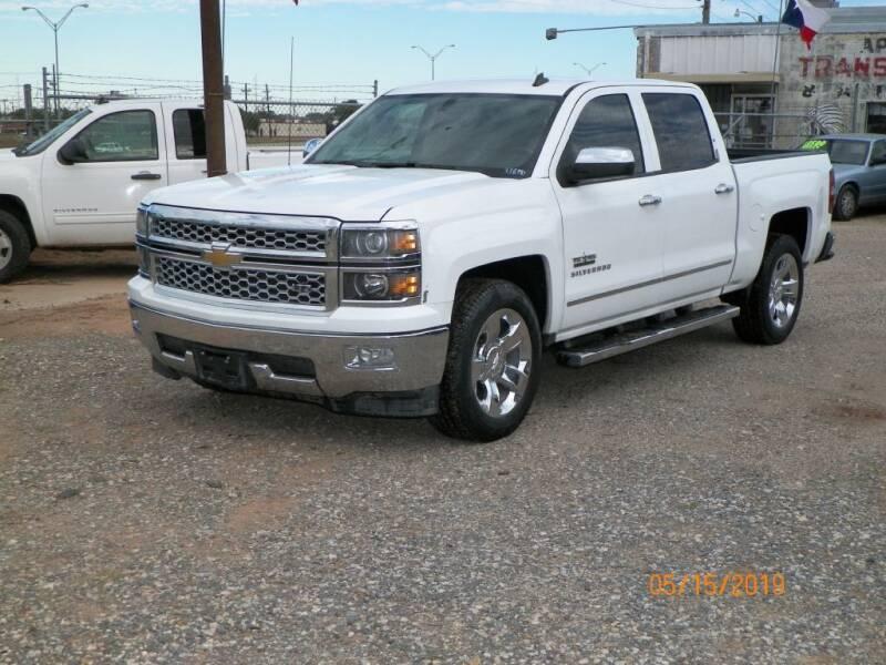 2014 Chevrolet Silverado 1500 for sale in Lubbock, TX