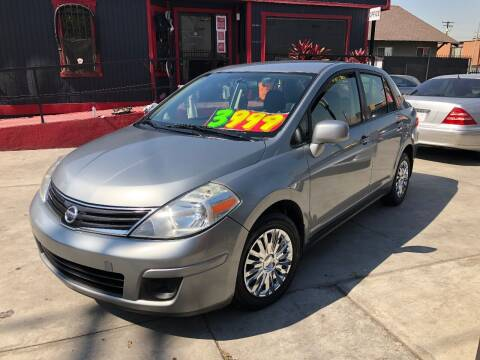 2010 Nissan Versa for sale at The Lot Auto Sales in Long Beach CA