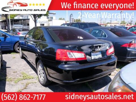 2012 Mitsubishi Galant for sale at Sidney Auto Sales in Downey CA