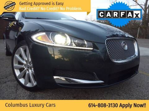 2013 Jaguar XF for sale at Columbus Luxury Cars in Columbus OH