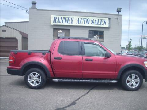 2007 Ford Explorer Sport Trac for sale at Ranney's Auto Sales in Eau Claire WI