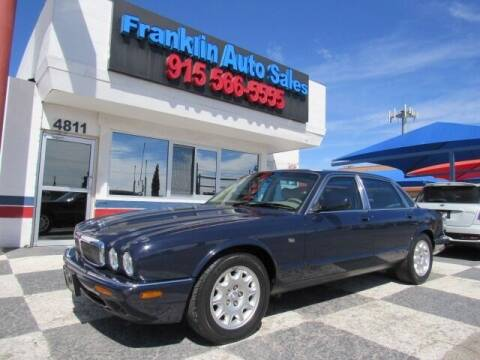 2001 Jaguar XJ-Series for sale at Franklin Auto Sales in El Paso TX