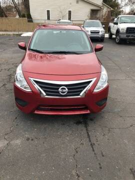 2017 Nissan Versa for sale at Car Now LLC in Madison Heights MI