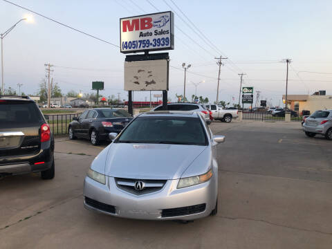 2005 Acura TL for sale at MB Auto Sales in Oklahoma City OK