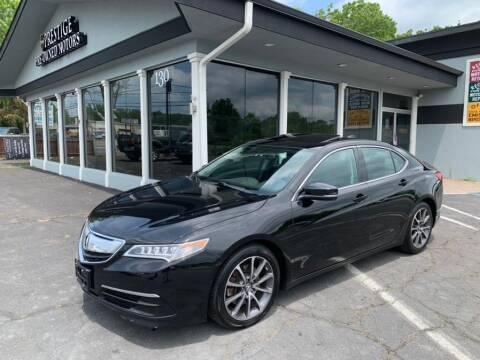 2015 Acura TLX for sale at Prestige Pre - Owned Motors in New Windsor NY