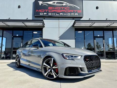 2020 Audi RS 3 for sale at Exotic Motorsports of Oklahoma in Edmond OK