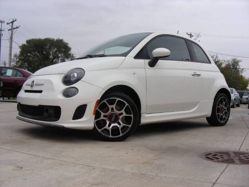 2013 FIAT 500 for sale at EURO MOTORS AUTO DEALER INC in Champaign IL