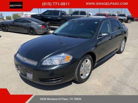 2013 Chevrolet Impala for sale at SOUTHWEST AUTO GROUP-EL PASO in El Paso TX