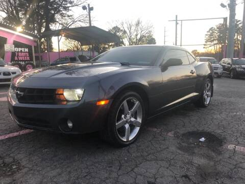 2010 Chevrolet Camaro for sale at Fast and Friendly Auto Sales LLC in Decatur GA