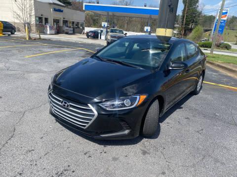 2018 Hyundai Elantra for sale at BRAVA AUTO BROKERS LLC in Clarkston GA