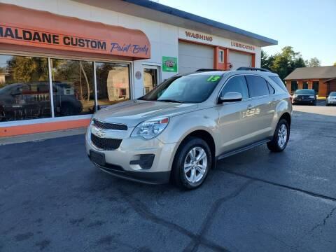 2013 Chevrolet Equinox for sale at Haldane Custom in Polo IL