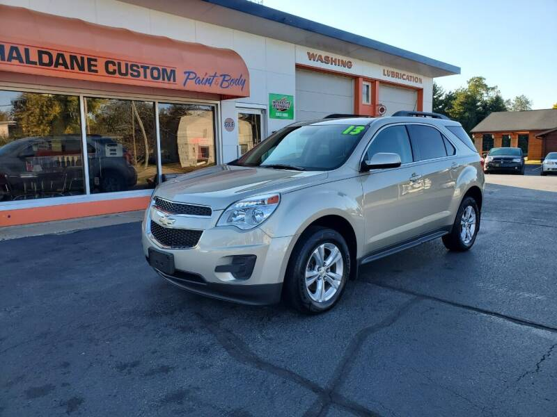 2013 Chevrolet Equinox for sale at Haldane Custom in Polo IL