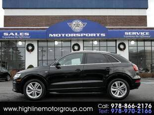 2018 Audi Q3 for sale at Highline Group Motorsports in Lowell MA