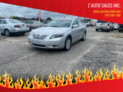 2007 Toyota Camry for sale at Z Auto Sales Inc. in Rocky Mount NC
