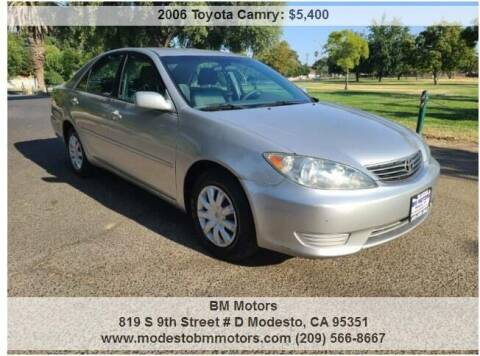 2006 Toyota Camry for sale at BM Motors in Modesto CA