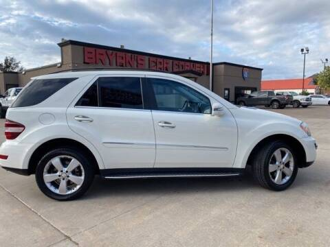 2011 Mercedes-Benz M-Class for sale at Bryans Car Corner in Chickasha OK