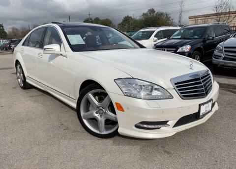 2011 Mercedes-Benz S-Class for sale at KAYALAR MOTORS in Houston TX