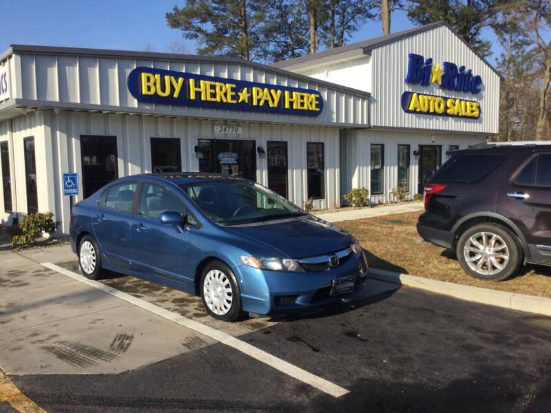 2009 Honda Civic for sale at Bi Rite Auto Sales in Seaford DE