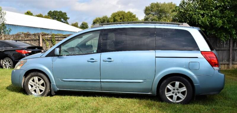 2004 Nissan Quest for sale at PINNACLE ROAD AUTOMOTIVE LLC in Moraine OH