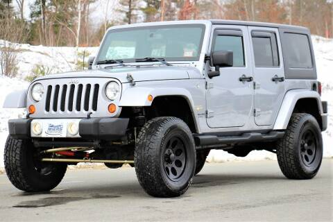 2013 Jeep Wrangler Unlimited for sale at Miers Motorsports in Hampstead NH