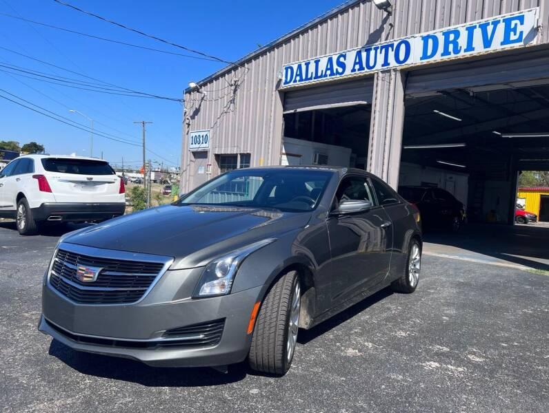 2016 Cadillac ATS for sale at Dallas Auto Drive in Dallas TX