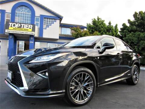 2016 Lexus RX 450h for sale at Top Tier Motorcars in San Jose CA