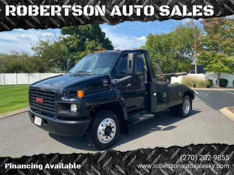 2005 GMC C5500 for sale at ROBERTSON AUTO SALES in Bowling Green KY