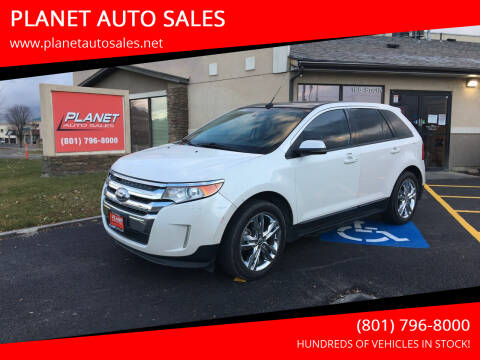 2013 Ford Edge for sale at PLANET AUTO SALES in Lindon UT