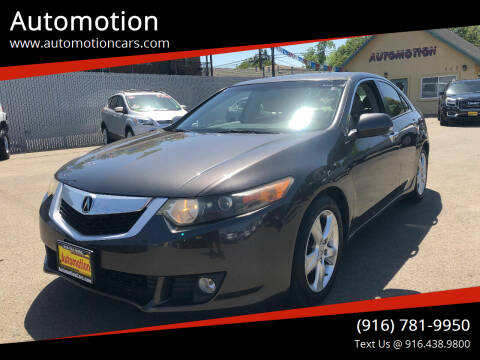 2010 Acura TSX for sale at Automotion in Roseville CA
