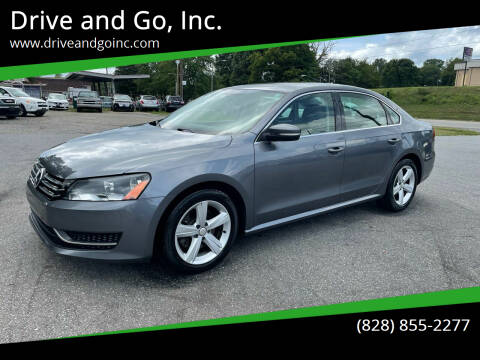 2013 Volkswagen Passat for sale at Drive and Go, Inc. in Hickory NC