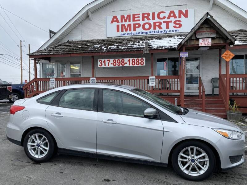 2015 Ford Focus for sale at American Imports INC in Indianapolis IN