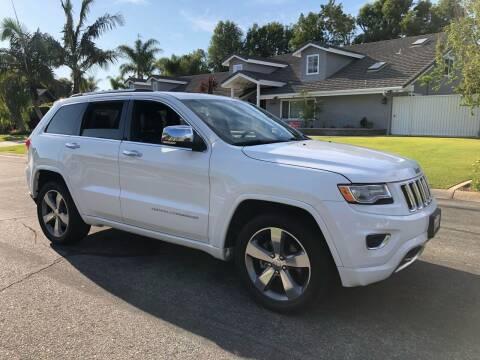 2015 Jeep Grand Cherokee for sale at Carmelo Auto Sales Inc in Orange CA