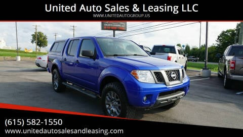 2012 Nissan Frontier for sale at United Auto Sales & Leasing LLC in La Vergne TN