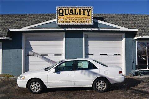 1999 Toyota Camry for sale at Quality Pre-Owned Automotive in Cuba MO